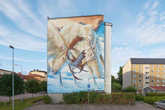 Smug One @Garvaregatan, Karlstad, Sweden