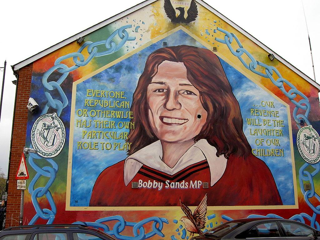 Solidarity Wall - murale del fronte repubblicano dedicato a Bobby Sands