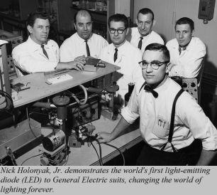 9 ottobre 1962. Viene dimostrato il primo LED visibile