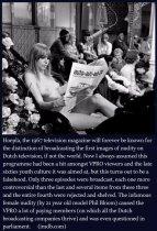 9 ottobre 1967 - Trasmissione con le prime immagini di nudo nella televisione olandese