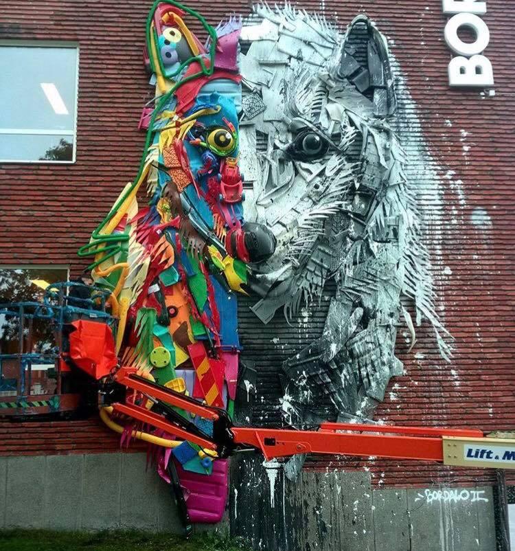 Bordalo II @Boras, Sweden