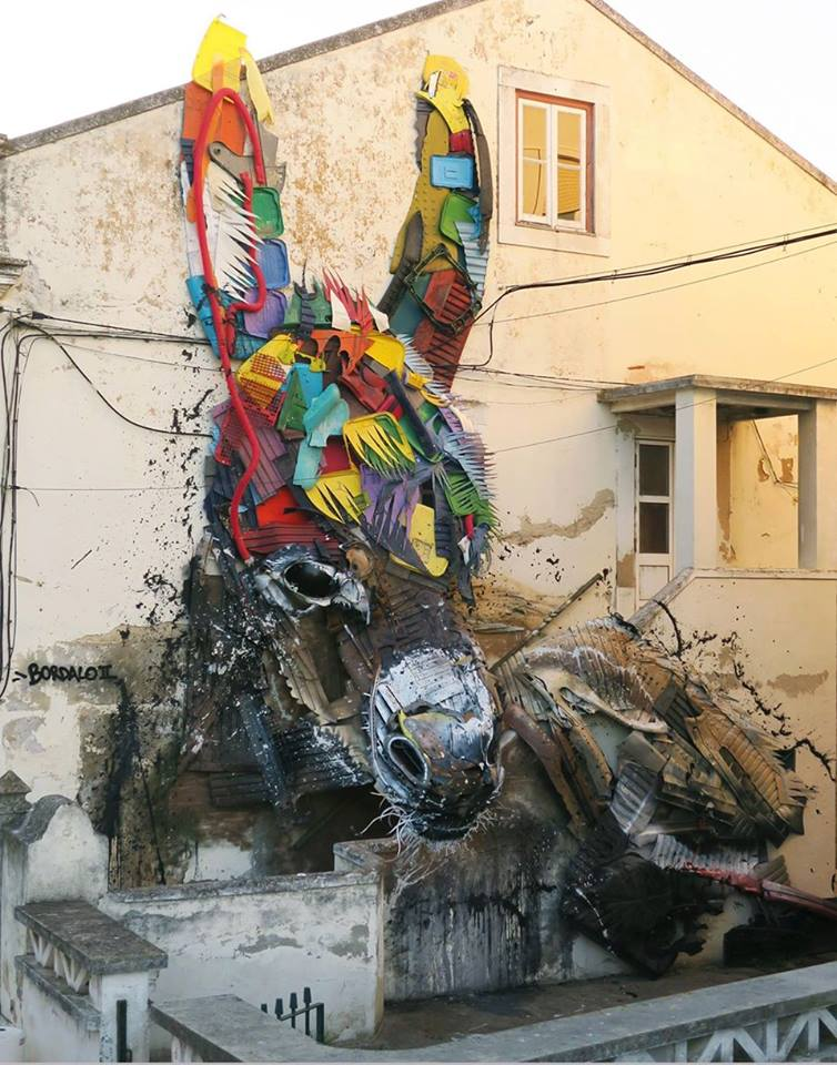 Bordalo II @Montijo, Portugal