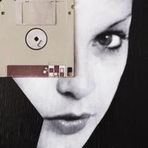 Claudio Rosa - FLOP Y 04 (6 x 18,0 x 18,0 cm - tecnica mista)