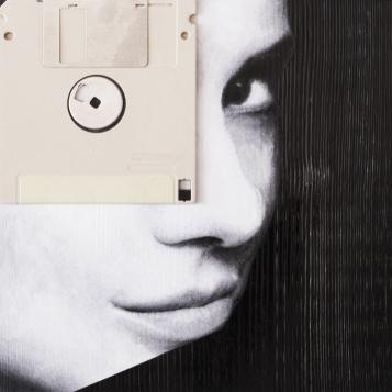 Claudio Rosa - FLOP Y 11 (6 x 18,0 x 18,0 cm - tecnica mista)