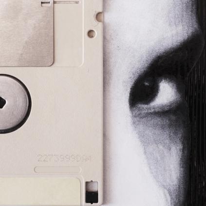 Claudio Rosa - FLOP Y 12 (6 x 18,0 x 18,0 cm - tecnica mista)