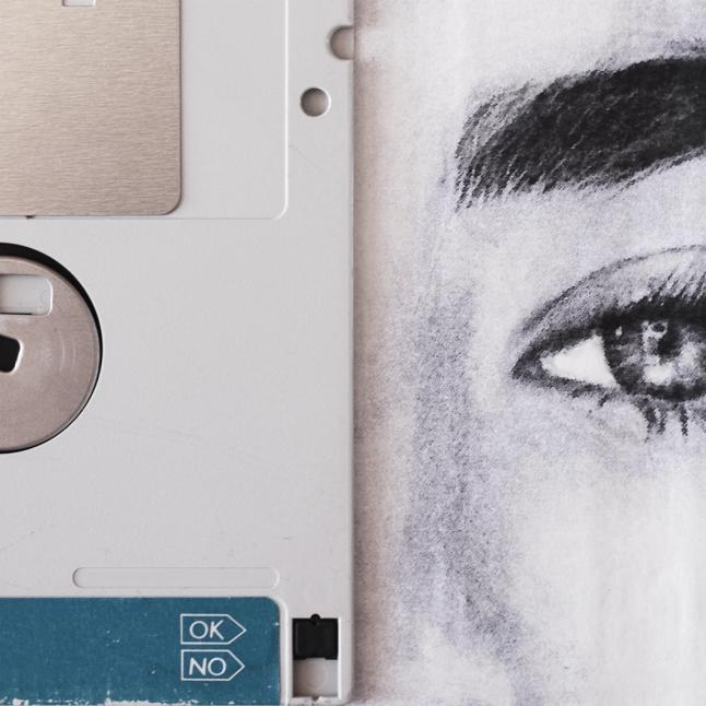 Claudio Rosa - FLOP Y 15 (6 x 18,0 x 18,0 cm - tecnica mista)