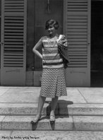 Coco Chanel a casa sua a St Honore, Parigi, 1929