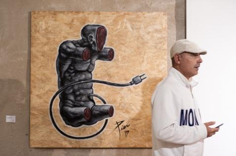 Smart Cityness 2017 - Opera di Piercarlo Carella - Fotografia di Carlo Modoni