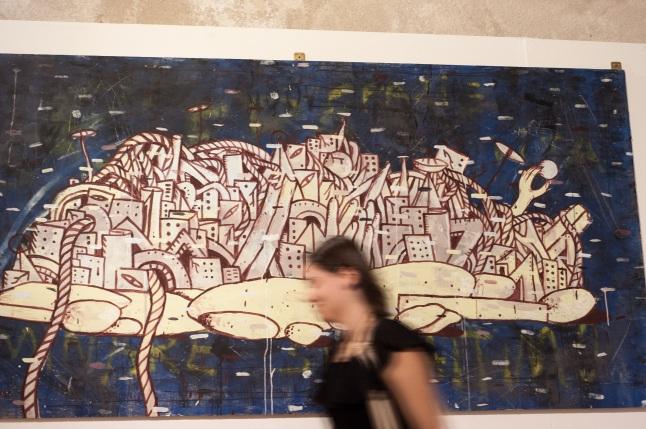 Smart Cityness 2017 - Opera di Federico carta aka Crisa - Fotografia di Carlo Modoni
