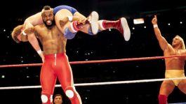 Il signor T è stato acclamato da Hulk Hogan alla prima Wrestlemania, 1985