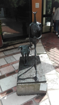 """""""Tauromachia"""" (1953) by Germaine Richier @ Peggy Guggenheim Collection"""