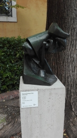 """Il cavallo"" (1914) by Raymond Duchamp-Villon @ Peggy Guggenheim Collection"