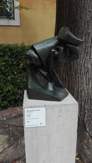 """Il cavallo"" (1914) by Raymond Duchamp-Villon @ Peggy Guggenheim Collection"