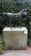 """Leone urlante II"" (1956) by Mirko @ Peggy Guggenheim Collection"