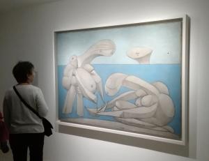 """""""La Baignade"""" (1957) by Pablo Picasso @ Collezione Peggy Guggenheim"""