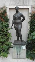 """Pomona"" (1945) by Marino Marini @ Peggy Guggenheim Collection"