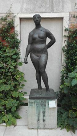 """Pomona"" (1945) by Marino Marini @ Peggy Guggenheim Collection"