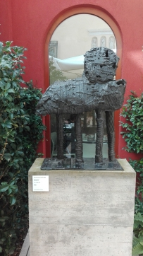 """Cane cinese 2"" (1958) by Eduardo Paolozzi @ Peggy Guggenheim Collection"