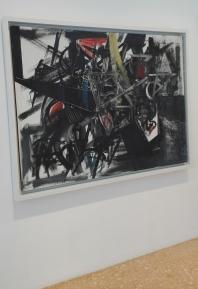 """""""Immagine del tempo (Sbarramento)"""" (1951) by Emilio Vedova @ Peggy Guggenheim Collection"""