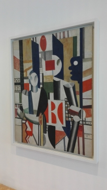 """Uomini in città"" (1919) by Fernand Léger @ Peggy Guggenheim Collection"