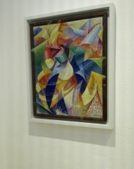 """Mare=Ballerina"" (1914) by Gino Severini @ Peggy Guggenheim Collection"