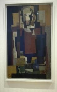 """L'Habitué"" (1920) by Louis Marcoussis @ Peggy Guggenheim Collection"