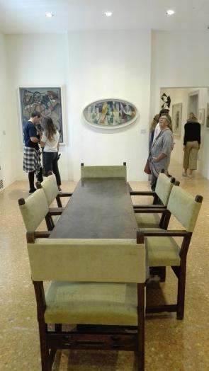 """Finestre aperte simultaneamente 1° parte, 3° motivo"" (1912) by Robert Delaunay @ Peggy Guggenheim Collection"