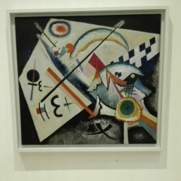 """Croce bianca (Weisses Kreuz)"" (1922) by Vasily Kandinsky @ Peggy Guggenheim Collection"