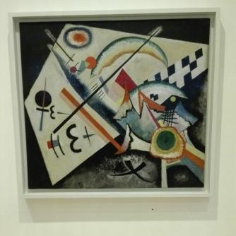 """""""Croce bianca (Weisses Kreuz)"""" (1922) by Vasily Kandinsky @ Peggy Guggenheim Collection"""