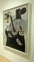 """Donna seduta II"" (1939) by Joan Miró @ Peggy Guggenheim Collection"