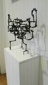 """Corax"" (1953) by Ibram Lassaw @ Peggy Guggenheim Collection"