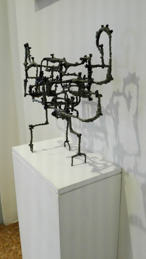 """""""Corax"""" (1953) by Ibram Lassaw @ Peggy Guggenheim Collection"""