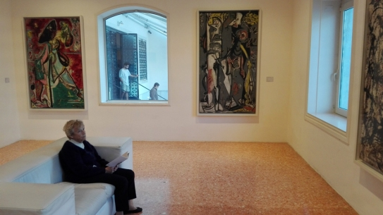 Jackson Pollock @ Peggy Guggenheim Collection