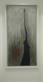 """""""Jamais"""" (1944) by Clyfford Still @ Peggy Guggenheim Collection"""