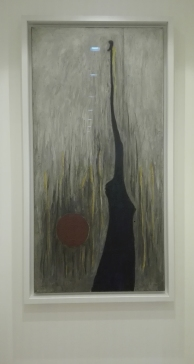 """Jamais"" (1944) by Clyfford Still @ Peggy Guggenheim Collection"