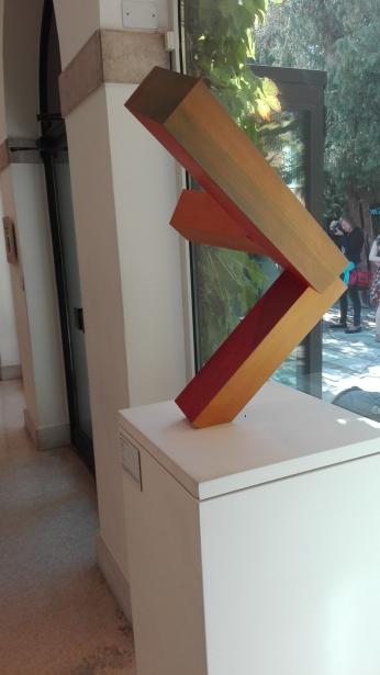 """Senza titolo"" (1983) by Joel Shapiro @ Peggy Guggenheim Collection"