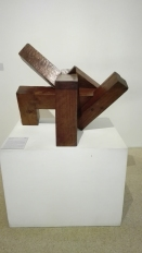 """Luogo di incontri I"" (1964) by Eduardo Chillida @ Peggy Guggenheim Collection"