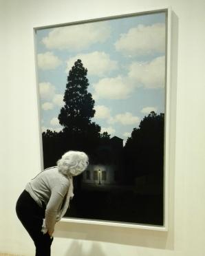 """""""L'empire des lumières"""" (1953-54) by René Magritte @ Peggy Guggenheim Collection"""