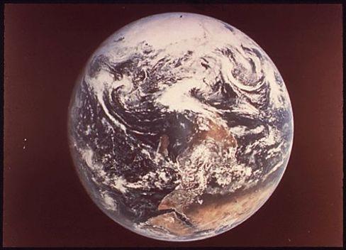 La Terra vista da Apollo 17