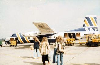 L'aereo Fleetwood Mac