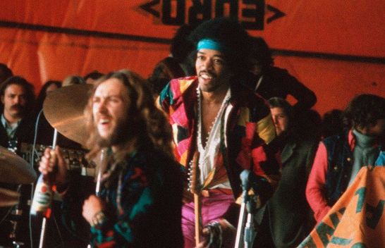 L'ultima esecuzione di Jimi Hendrix al Festival Love and Peace di Open Air in Fehmarn, Germania, il 6 settembre 1970
