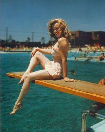 Marilyn Monroe. Jones Beach (1949)