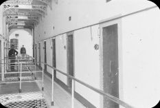 Prigione di Kilmainham, (Dublino, 1910). La prigione ospitava più tardi quelli imprigionati e giustiziati dopo la Rivolta di Pasqua, 1916