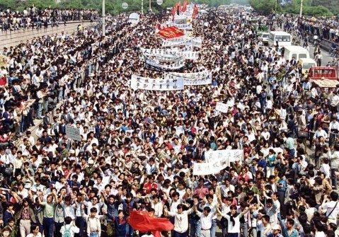 Protesta di piazza Tienanmen, 1989