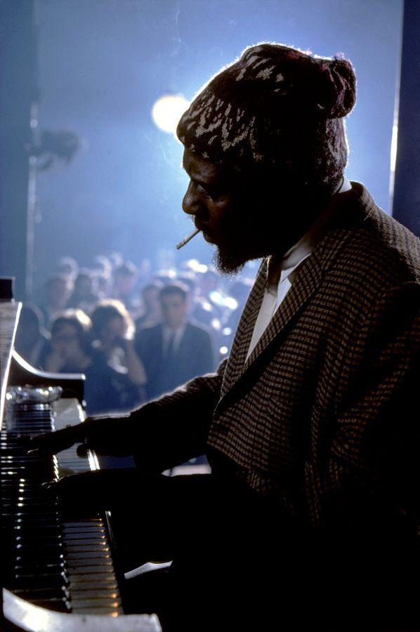 Thelonious Monk si esibisce al Newport Jazz Festival, 1974