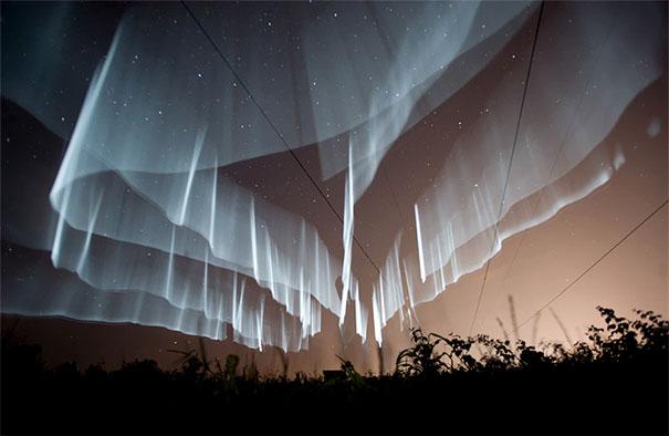 Strane Aurore boreali