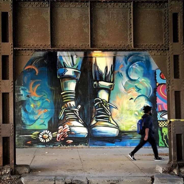 Alice Pasquini @Chicago, USA