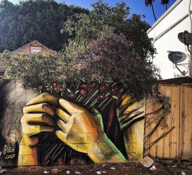 Alice Pasquini @Los Angeles, USA