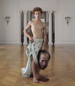 """""""Champion"""" (David And Goliath theme) by Charlie White, American Photographer in his series """"Everything Is American"""""""