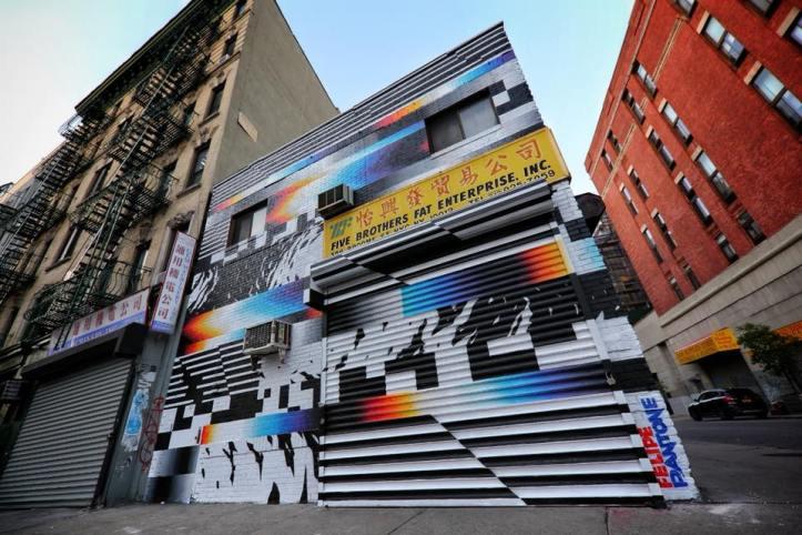 Felipe Pantone @NYC, USA
